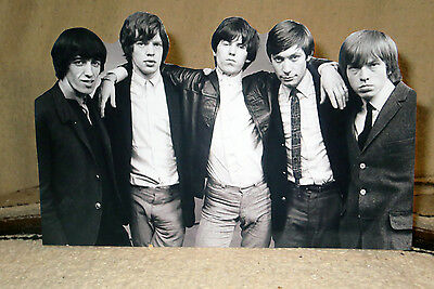 """The Rolling Stones Rock & Roll Tabletop Standee 10 3/4"""" Long"""
