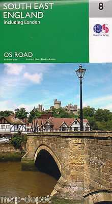 South East England Road Map - New 2016 - Ordnance Survey - 8
