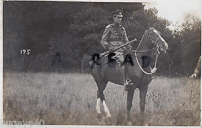 Soldier Trooper City of London Yeomanry Rough Riders in full dress Wimbledon