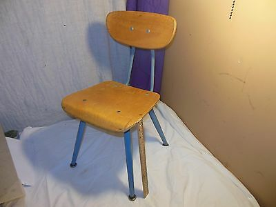 Vintage Mid-Century Modern American Seating Child School Chair Classmate Eames X