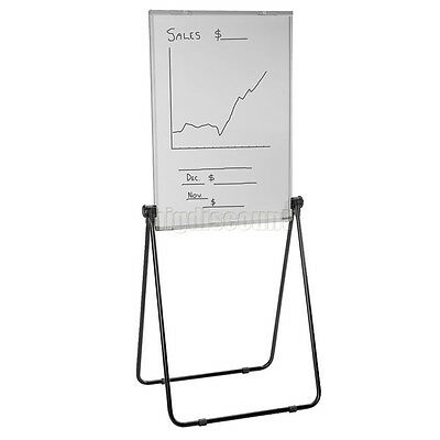 Mobile Magnetic Whiteboard Double Sided Stand Flip Chart White Board 60x90cm