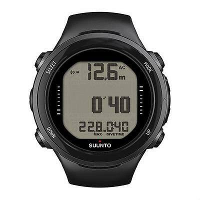 Suunto By Huish D4i Novo Scuba Diving Computer w/ USB - Black
