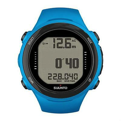 Suunto By Huish D4i Novo Scuba Diving Computer w/ USB - Blue