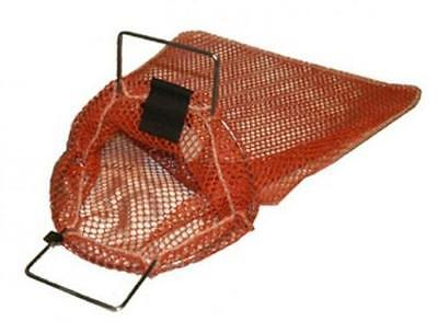 Galvanized Wire Handle Mesh Bags for Watersports with D-Ring - Small