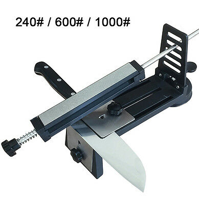 DMD Diamond Fix-angle Kitchen Sharpening System Knife Sharpener With 3 Stones