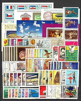 Hungary 1977. Full year sets with souvenir sheets MNH Mi: 108 EUR !!