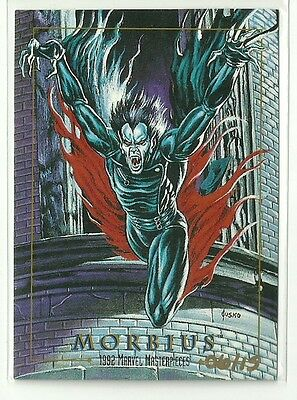 2016 Upper Deck Marvel Masterpieces Morbius Buyback Joe Jusko Error Look #ed/ 15