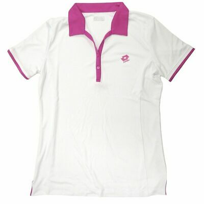 LOTTO Womens Polo Share Tennis Button Shirt Top T Shirt Performance Q2456