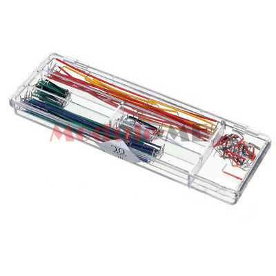 140pcs U Shape Solderless Breadboard Jumper Cable Wire Kit for Arduino Shield UK