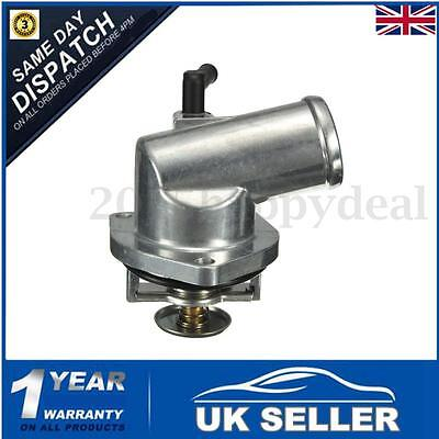 Thermostat & Housing Fit 1999-2005 Vauxhall ASTRA G Mk4 1.4 & 1.6 & ZAFIRA A 1.6