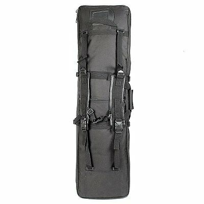 Double Rifle Military Tactical Gun Bag Shooting Hunting Carry Case Strap Bag New