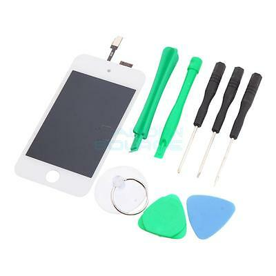 OEM LCD Touch Screen Digitizer Glass Assembly for iPod Touch 4 4th Gen White