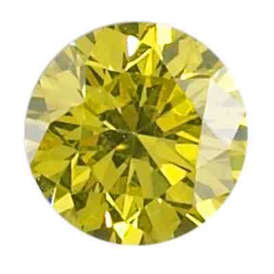 Lab Created Yellow Round Diamond 7Mm Fast & Free Delivery