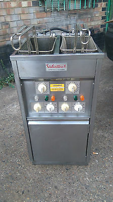 Valentine Double Tank Double Basket 3 Phase Electric Chips Fryer
