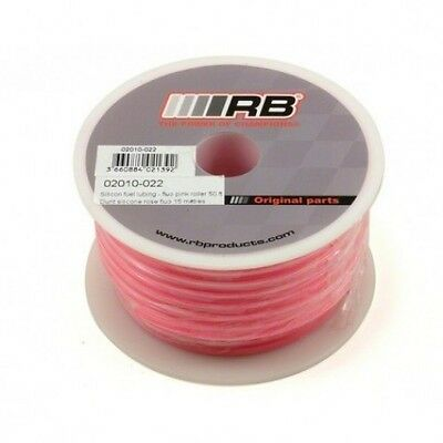 RB Products RC Nitro Car Silicone Fuel Pipe Tubing Fluo Pink - 900mm Hyper 7 HPI