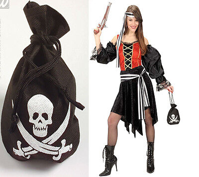 Pirate Pouch Accessory for Pirate Peter Pan Fancy Dress