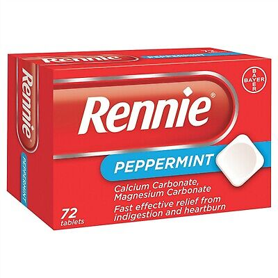 Rennie Peppermint ( 72 Tablets )
