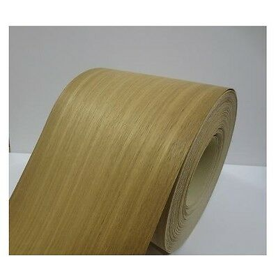 Real wood Veneer Iroko with Hot melt adhesive iron-on 30 cm Wide