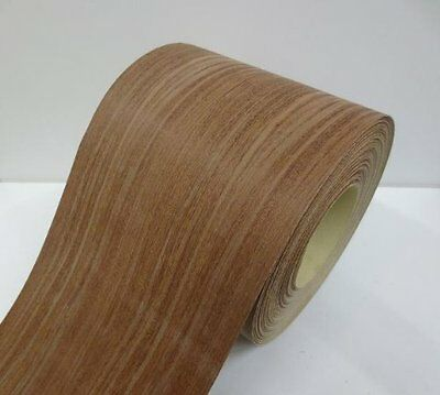 Real wood Veneer Cumaru with Hot melt adhesive iron-on 30 cm Wide