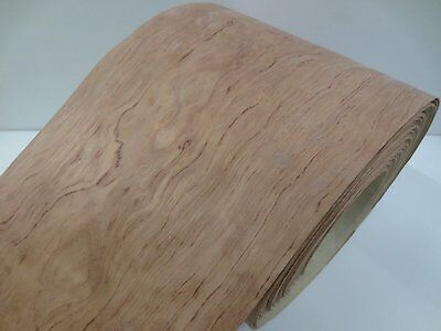 Real wood Veneer Rosewood with Hot melt adhesive iron-on 30 cm Wide