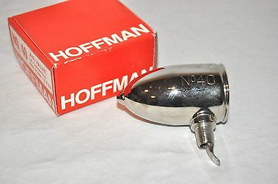 "Hoffman No. 40 1/8"" Angle Steam Radiator Air Valve 401440"
