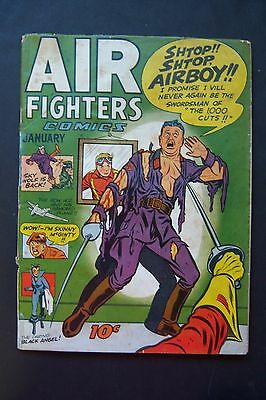 AIR FIGHTERS #4, 1944, Airboy, Flying Dutchmen.