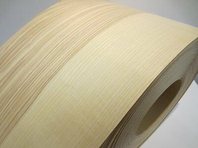 Real wood Veneer Ash Steamed with Hot melt adhesive iron-on 30 cm Wide