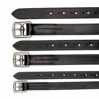 Quality Leather Stirrup Leathers Black or Havanna. Adults & Childs Sizes