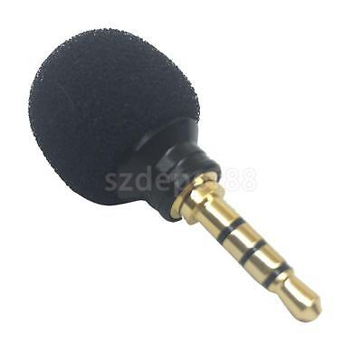 3.5mm Mini Stereo Microphone Mic -Mobile Cell Phone Laptop Recording Small