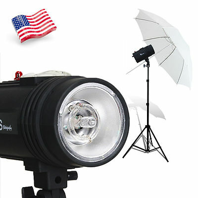 Photo Studio 200W 200Ws Studio Strobe Flash Light Lamp Lighting  Head 100V-120V