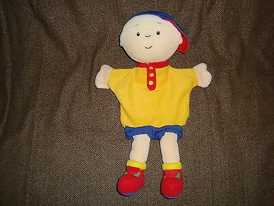 "Caillou Full Body Hand Puppet 12"" 2002 Cinar Plush"