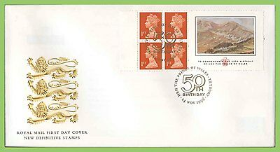 G.B. 1998 P.O.W. booklet stamps Royal Mail First Day Cover, Tetbury