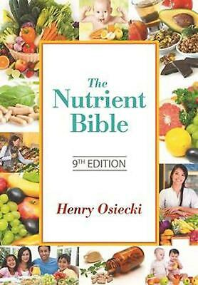 The Nutrient Bible 9th edition by Henry Osiecki Paperback Book Free Shipping!