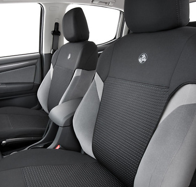 Genuine Holden Colorado My17 Neoprene Seat Cover Set Front Seat Cover Pair