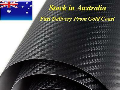 HN BUBBLE FREE Carbon Fiber Black Vehicle Vinyl Wrap 1.52m x 3m