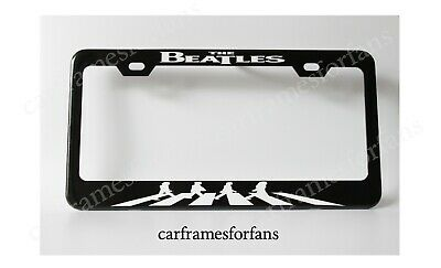 The Beatles Colorama License Plate