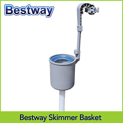Bestway Above Ground Pool Surface Skimmer Box Leaves Catcher