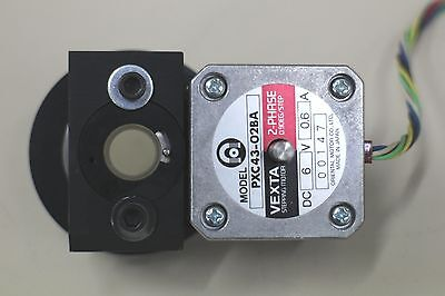 Stepper Motor Driven Polarizer Wheel Attenuator For 532Nm Laser Light