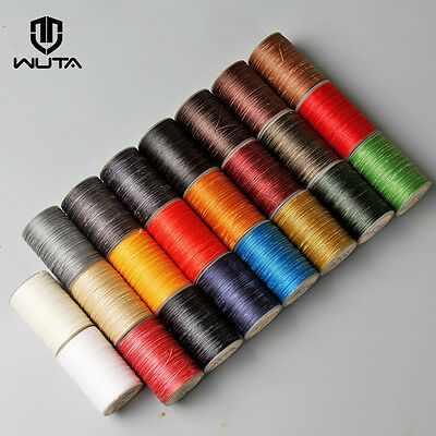 0.55mm Waxed Wax Thread Cord for Leather Hand Sewing Stiching