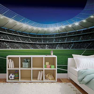 WALL MURAL Football Stadium XXL PHOTO WALLPAPER (324DC)