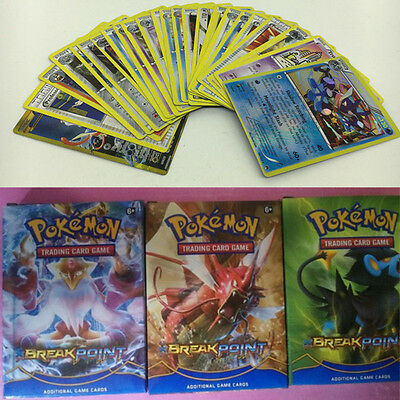 17 Pcs Children Kid Game Cartoon Pokemon EX & Common Card Anime Lots Gift Toy