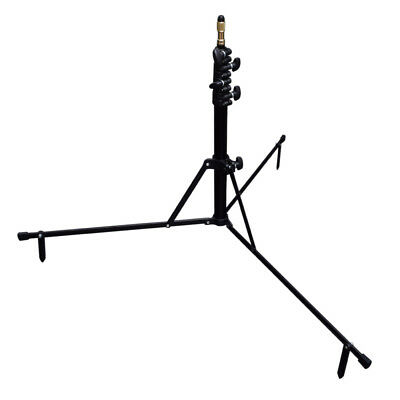 Studio 6.5' / 2m Portable Reverse Folding Light Stand for Photo Video Lighting