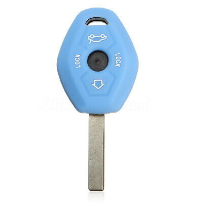 Silicone Flip Key Case 2 Button fob Cover for Vauxhall Opel Astra Vectra CORSA
