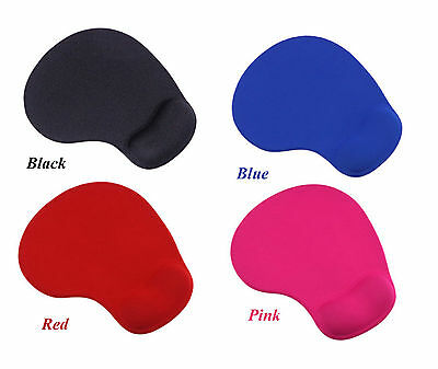 Comfort Wrist Rest Support Mat Mouse Mice Pad Computer PC Laptop in 4 Colors