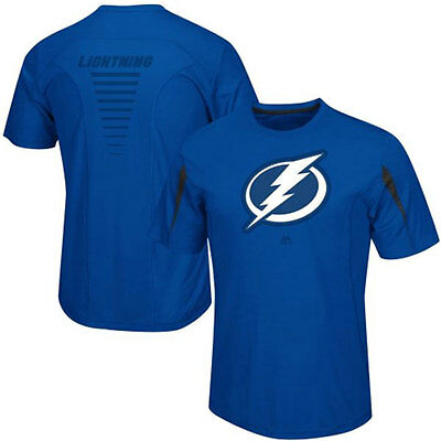 Tampa Bay Lightning NHL Cool Base Chip Pass T-shirt - Stock Clearance Sale!