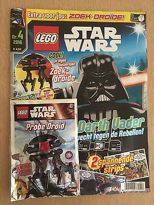 LEGO Star Wars Magazine Dutch Issue #10 with Limited Edition Probe Droid.