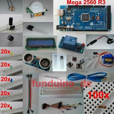 Kit/Set for Arduino/with MEGA2560 R3 Micro controller/lots of accessories/