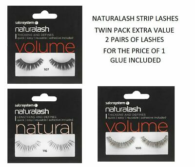 Salon systems Naturalash STRIP LASH Twin Pack - Extra Value - CRAZY CLEARANCE