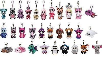 Beanie Boo`s Boos ty Key ring Clip Glubschi´s with NOVELTIES 2016 ty