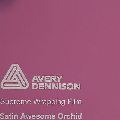 1 m (42,50 € / m) Avery Supreme Car Wrapping Film Folie orchidee satin